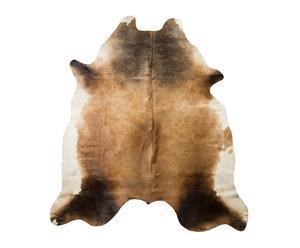 Alfombra en piel de vaca 100% - 212x186 cm