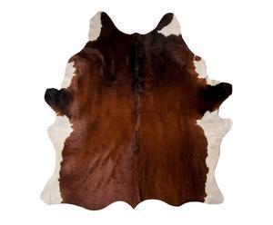 Alfombra en piel de vaca 100% - 208x192 cm