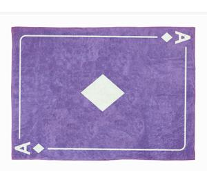 Alfombra en algodón As de Diamantes, lila– 120x160