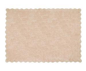 Alfombra Lisa, beige – 120x160