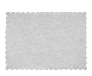 Alfombra Lisa, gris – 160x120 cm