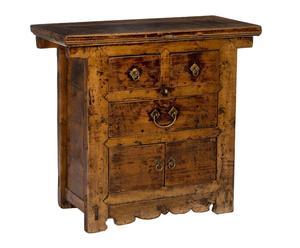Cómoda de madera de cedro Gansu – marrón