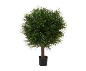 Arbusto artificial Podocarpus