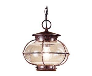 Lámpara de techo Burbuja – marrón rústico
