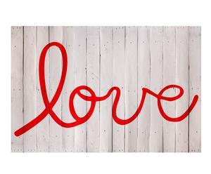 Cabecero Love, rojo – 150x100