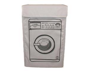 Funda para lavadora de poliéster – gris