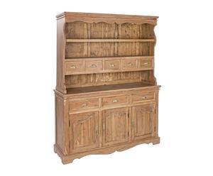 Alacena de madera de acacia – natural