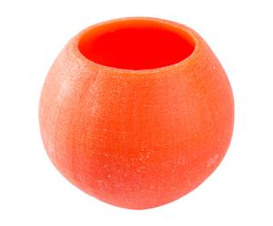 Vela de parafina Ball - naranja