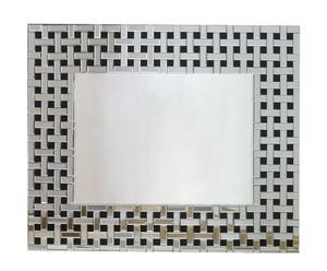 Espejo trenzado - rectangular