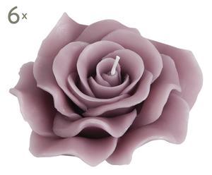 Vela de parafina Peonía, rosa – Ø12