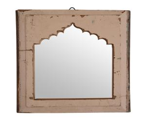 Espejo árabe de madera maciza de teca y mango reciclada Najwa