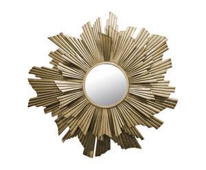 Espejo de metal - dorado