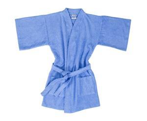 Albornoz kimono Tótem - azul