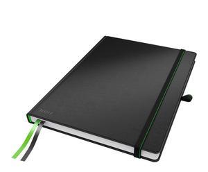 Cuaderno de rayado horizontal Complete– negro