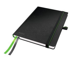 Cuaderno de hojas cuadriculadas Complete DIN A6– negro