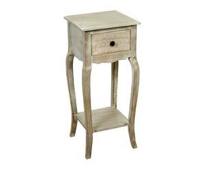 Mesa de diseño romántico – madera
