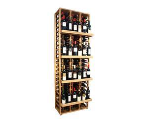 Botellero en madera Godello VILLAFRANCA - 120 botellas