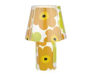 Lámpara de sobremesa en acrílico y PVC – multicolor