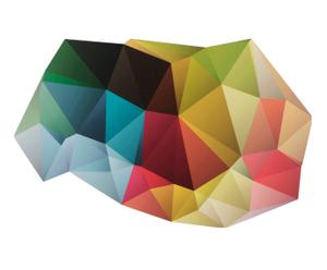Alfombra vinílica decorativa Origami II – 99X120
