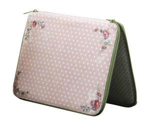 Funda para iPad en poliéster – rosa