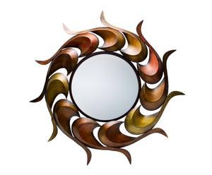 Espejo de metal Sol