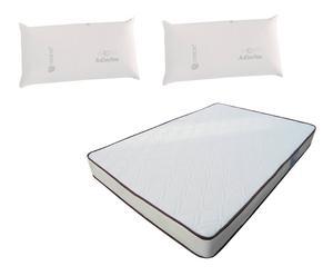 Set de un colchón eco 135x190 y 2 almohadas