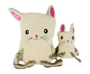 Set de toalla y cambiador para bebé Conejo