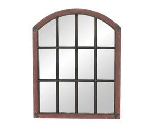 Espejo de pared en metal y acrílico Ventana