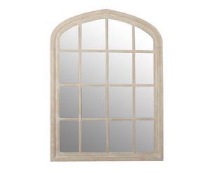Espejo de madera Ventana, natural – 120x160x5