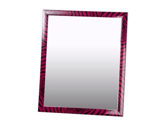 Espejo de pared de poliestireno - fucsia