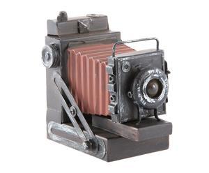 Cámara de fotos en metal