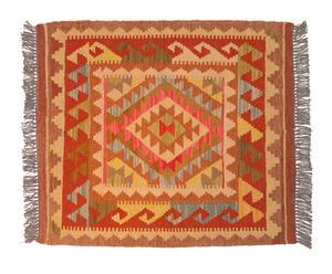 Kilim de lana hecho a mano Abba – 69x78