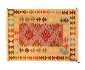 Kilim de lana hecho a mano Allo – 87x 65