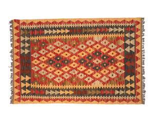 Kilim de lana hecho a mano Are – 91x 62