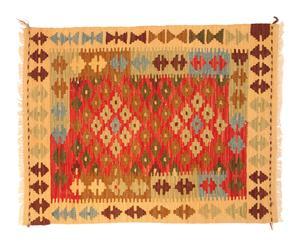 Kilim de lana hecho a mano Ekker – 85x 66