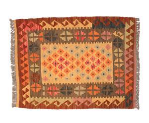 Kilim de lana hecho a mano Onix – 89x 66