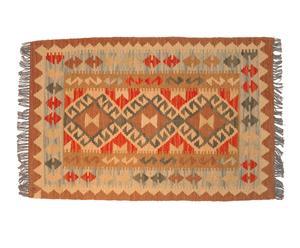 Kilim de lana hecho a mano Ula – 96x 64