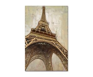 Lienzo Eiffel – oro