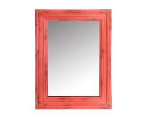 Espejo de madera – rojo