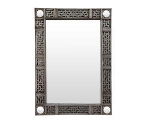 Espejo de pared en poliuretano – platino