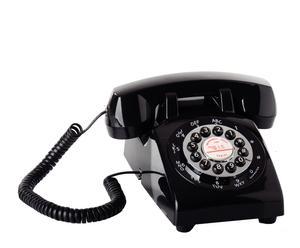 Teléfono en ABS Classic – negro