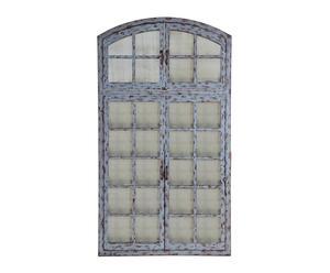 Espejo-ventana de metal – gris