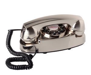 Teléfono decorativo – cromo