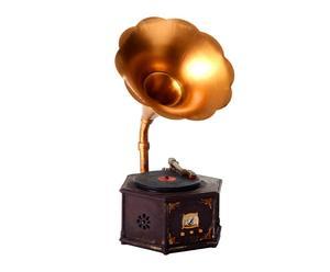 Gramófono decorativo en resina - Multicolor