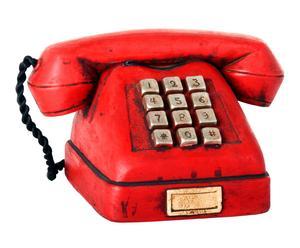 Teléfono decorativo en resina - Rojo