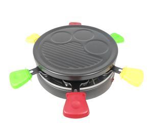 Raclette redondo