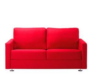 Sofá de 2 plazas Azores - rojo