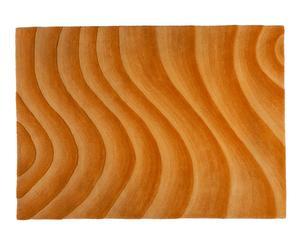 Alfombra Riverside en lana 100%, naranja - 170x240 cm