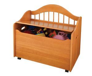 Baúl de madera - miel
