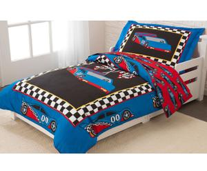 Set de ropa de cama infantil Coche de carreras